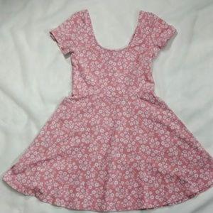FOREVER 21 ❣ Daisy Skater Dress ❣ Pink